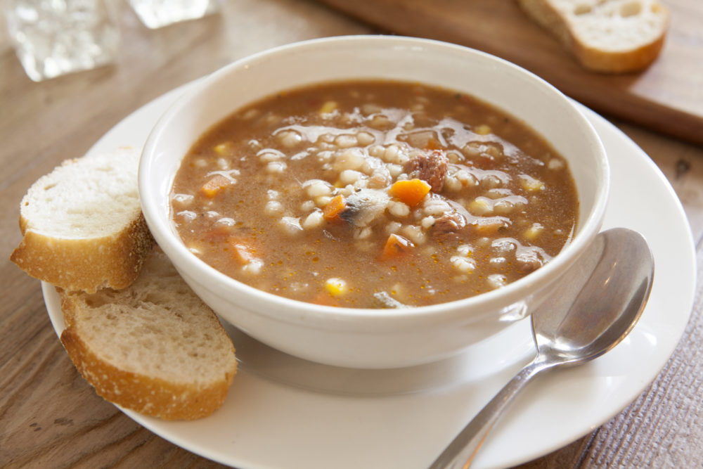 Warm & Hearty Beef Barley Soup