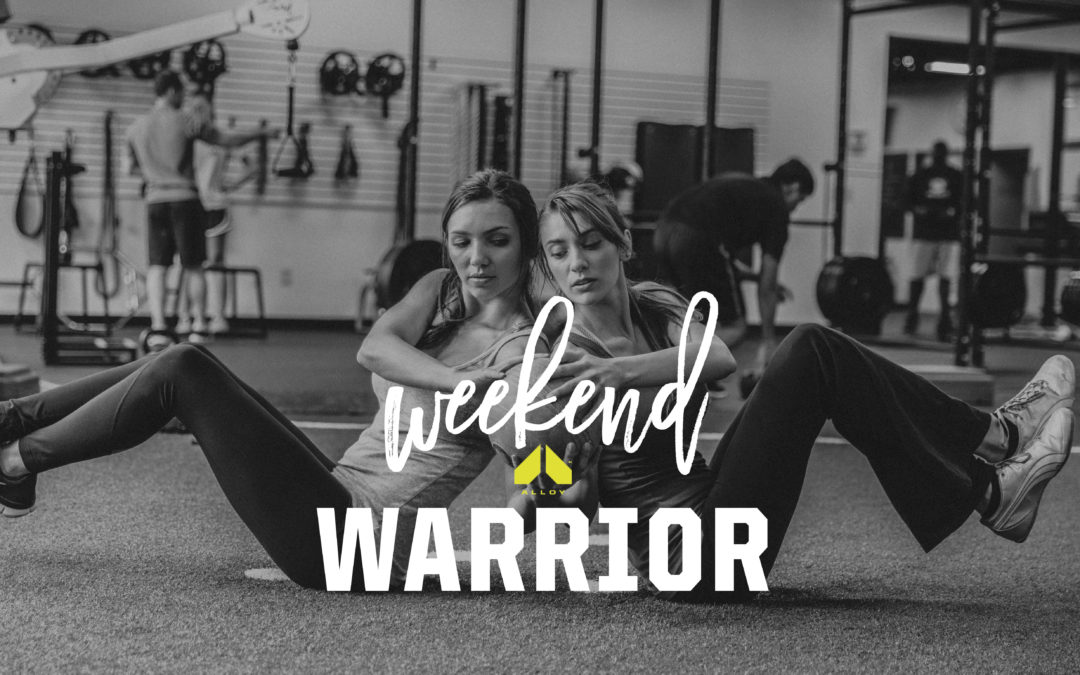 Weekend Warrior Home Workout