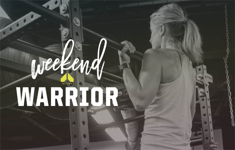 Weekend Warrior Workout September 16, 2016