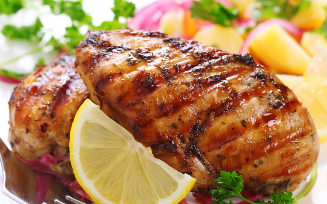Lager & Lemon-Grilled Chicken
