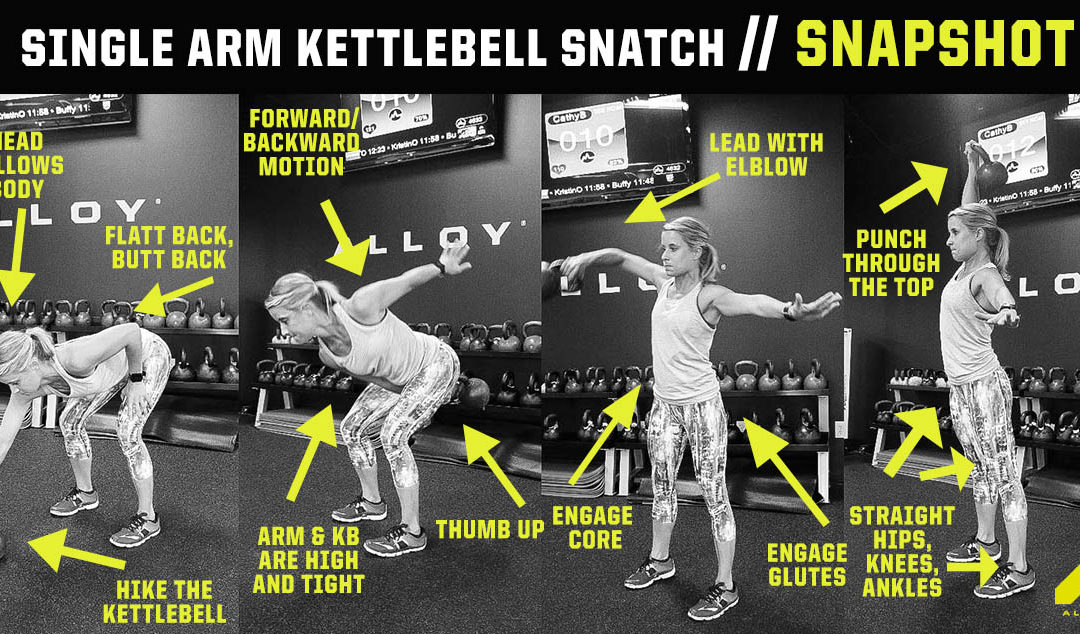 Single-Arm Kettlebell Snatch
