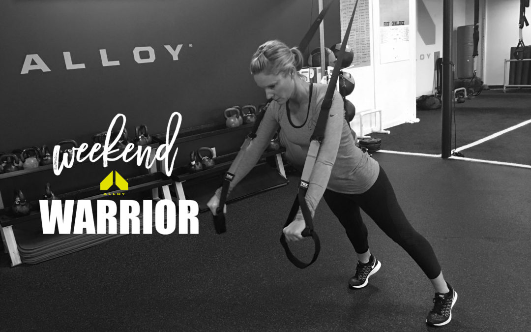 """Suspended"" Weekend Warrior Workout"