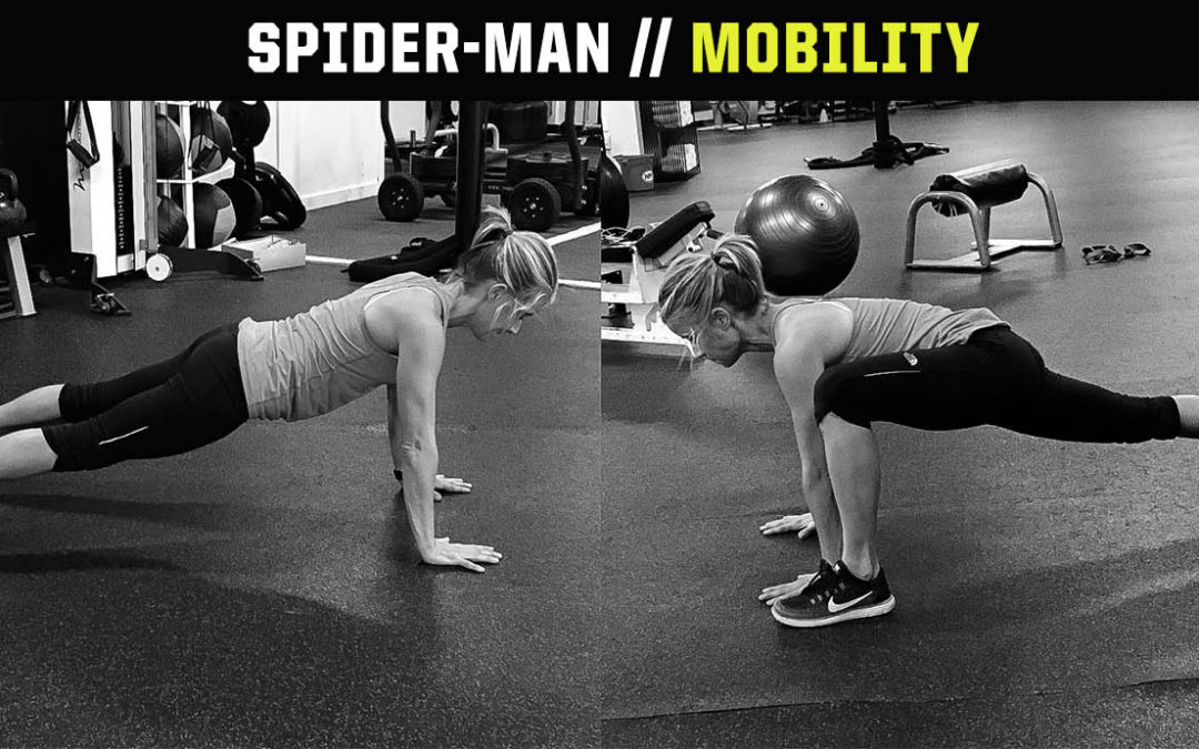 Mobility Drill: Spiderman