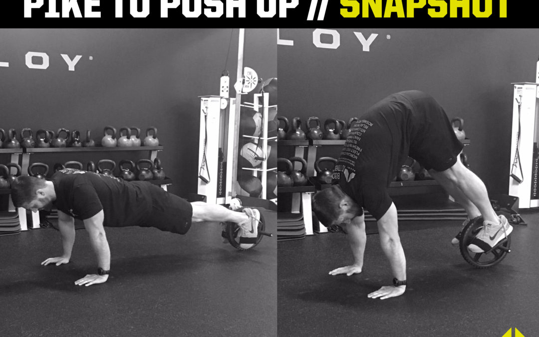 Pike to Push-Up