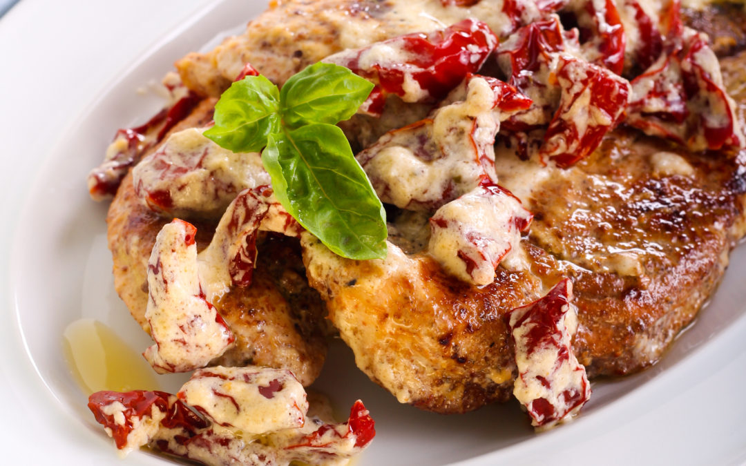 Paleo Creamy Sun-Dried Tomato Chicken