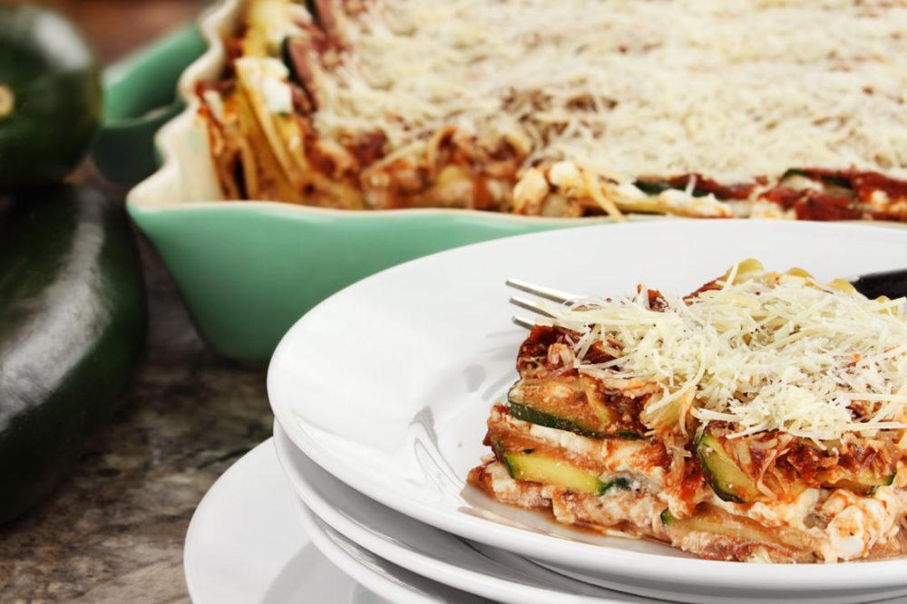 Crockpot Zucchini Lasagna