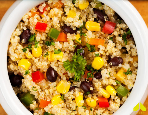 Slow Cooker Mexican Quinoa
