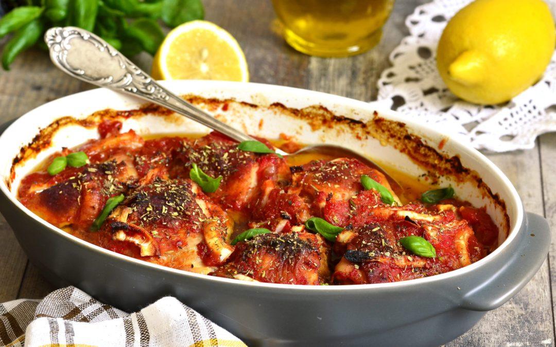 Tomato & Wine Braised Chicken