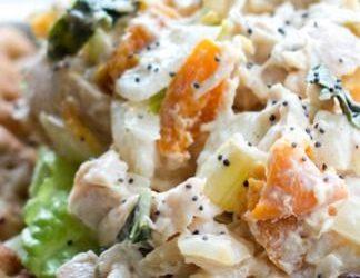 Apricot Basil Chicken Salad